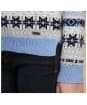 Women's Barbour Tarn Crew Sweater - Oxford Blue