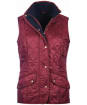 Women's Barbour Cavalry Quilted Gilet - Carmine