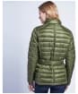 Women's Barbour International Cadwell Quilted Jacket - Khaki