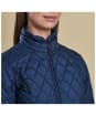Women's Barbour Charlotte Quilt Jacket - Navy