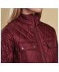 Women's Barbour Filey Quilt Jacket - Carmine