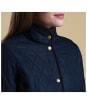 Women's Barbour Combe Polarquilt Jacket - Navy
