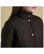 Women's Barbour Combe Polarquilt Jacket - Olive