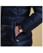 Women's Barbour Farne Quilted Jacket - Navy