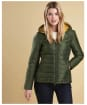 Women's Barbour Cragside Quilt Jacket - Kelp
