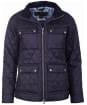 Women's Barbour Liberty Abbey Quilt Jacket - Navy