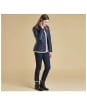 Women's Barbour Augustus Quilt Jacket - Navy