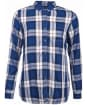 Women's Barbour Newton Shirt - French Navy Check