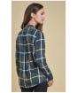 Women's Barbour Comond Shirt - Emerald
