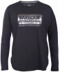 Women's Barbour International Mallory Tee - Black