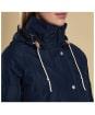 Women's Barbour Throw Waterproof Jacket - Navy