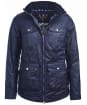 Women's Barbour Filey Wax Jacket - Royal Navy