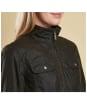 Women's Barbour Filey Wax Jacket - Olive