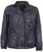 Women's Barbour x Brompton Bromley Wax Jacket - Navy