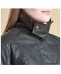 Women's Barbour Castlebay Waxed Jacket - Sage