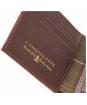 Men's Barbour Grain Leather Wallet - Dark Brown