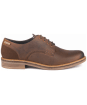 Men's Barbour Bramley Derby Shoes - Dark Brown Ranch