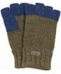 Men's Barbour Runshaw Gloves - Olive / Navy