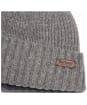 Men's Barbour Carlton Beanie Hat - Grey