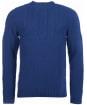 Men's Barbour Craster Crew Neck Sweater - Regal Blue