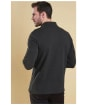 Men's Barbour Long Sleeved Sports Polo Shirt - Dark Charcoal Marl