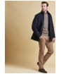 Men's Barbour Devon Jacket - Navy