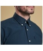 Men's Barbour Country Gingham Tailored Shirt - Dark Forest Check