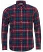 Men's Barbour Seth Tailored Shirt - Ruby Check