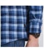 Men's Barbour International Grill Shirt - Chambray Check