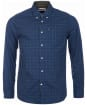 Men's Barbour Dalton Tailored Shirt - Navy Check