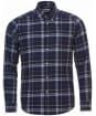 Men's Barbour Blane Tailored Shirt - Navy Check