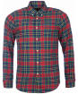 Men's Barbour Finley Tailored Shirt - Navy Check
