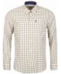 Men's Barbour Ethan Tailored Shirt - Navy Check