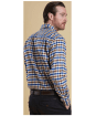 Men's Barbour Dulton Shirt - Brown Check