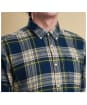 Men's Barbour Heritage Leith Shirt - Forest Check