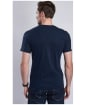 Men's Barbour Steve McQueen Starting Line Tee - Navy