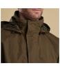 Men's Barbour Lockton Waterproof Jacket - Clay