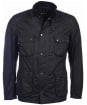 Men's Barbour International Weir Wax Jacket - Black