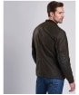 Men's Barbour International Weir Wax Jacket - Olive