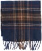 Barbour Elwood Scarf - Dark Blue Plaid