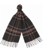 Barbour Elwood Scarf - Olive Plaid