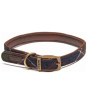 Barbour Wool Touch Tartan Dog Collar - Barbour Classic