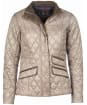 Women's Barbour Augustus Quilt Jacket - Taupe