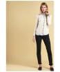 Women's Barbour Essential Slim Trousers - Black