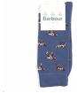 Men's Barbour Pointer Socks - Dark Chambray