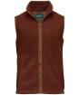 Men's Alan Paine Aylsham Fleece Waistcoat - Russet