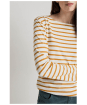 Women's Seasalt Sailor Shirt - Breton Ecru Spice