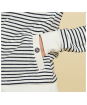 Women's Barbour Bamburgh Sweatshirt - White / Navy