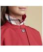 Women's Barbour Glenrothes Waterproof Jacket - Tartan Red