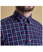 Men's Barbour Henry Tailored Fit Shirt - Upper and collar